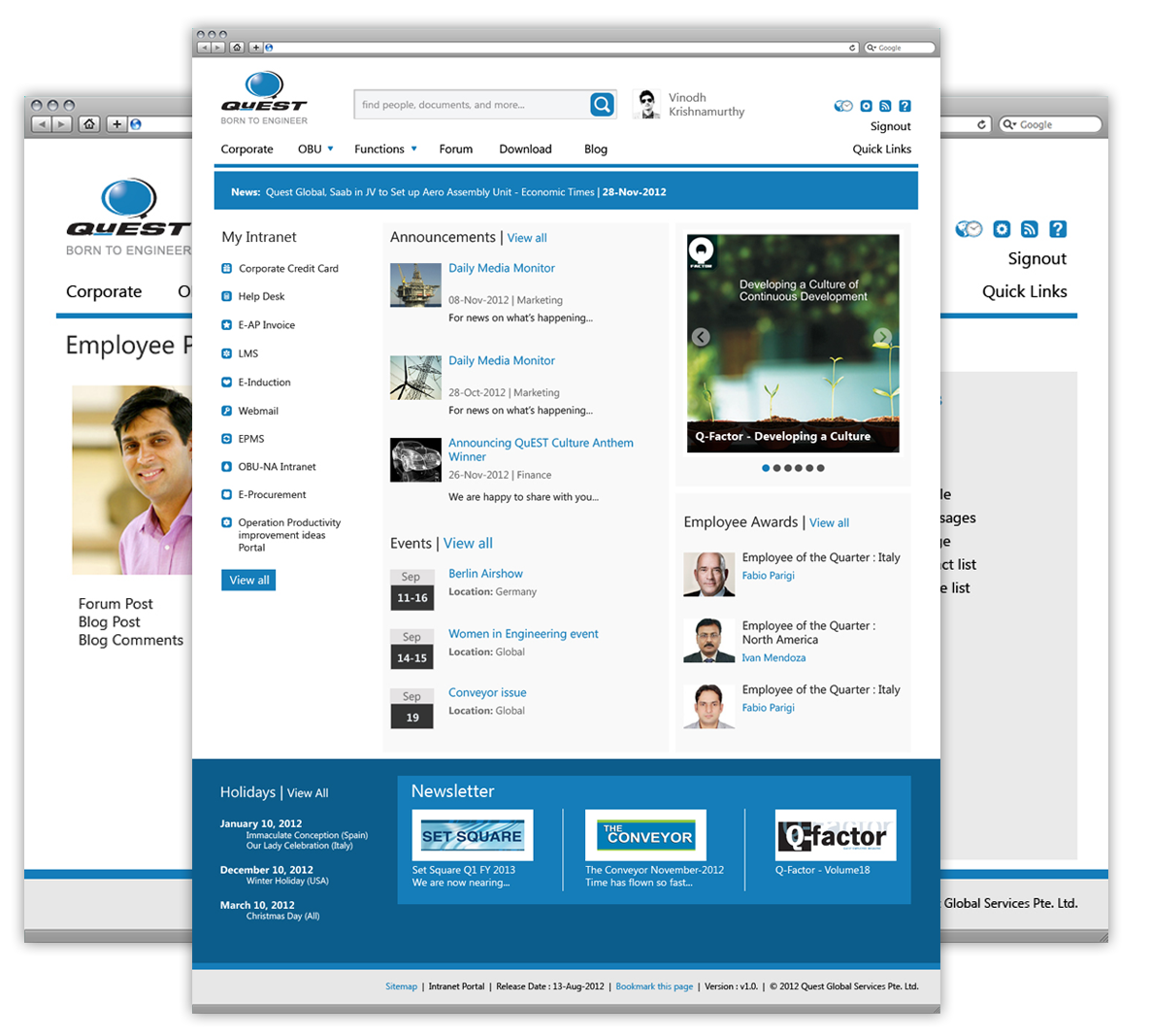 QuEST Intranet Portal